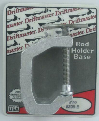 "Driftmaster 208B C Clamp Rod Holder Base for Pro Series 1//2/"" 25644"