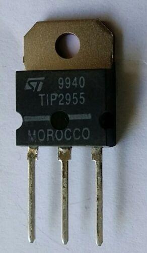 TIP2955 15A 60V PNP Bipolar power Transistor
