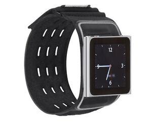 Belkin-Ipod-Nano-6-Generacion-6g-wristfit-Deportivo-Negro-Brazalete-caso-f8z684cwbkb