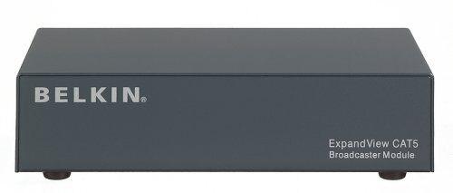 Belkin ExpandView CAT5 Broadcast Module Video splitter CAT5 8 ports F1DV108Aea