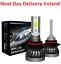 8000LM-H11-H8-H4-H1-H7-LED-Car-Headlight-Kits-Hi-Lo-Power-6000K-White-Bulb-Bulbs thumbnail 1
