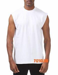 51003ce2e LOT 3 PACK PRO CLUB SLEEVELESS T SHIRTS MEN'S HEAVYWEIGHT MUSCLE ...