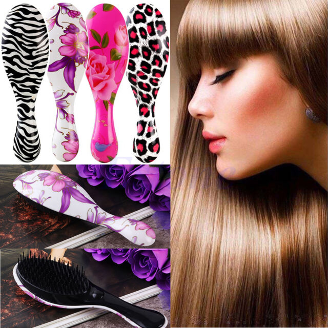 Beauty Tool Auto Hair Straightener Comb Brush Electric Hair Massager Anti-Scald