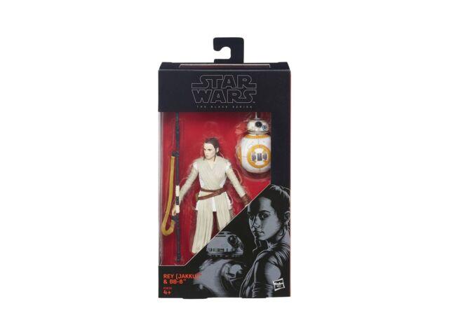 Figurine - Star Wars - Black Series - B3836 02 Rey (Jakku) and BB-8 (Episode VII