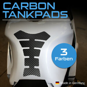 "Motorrad Tankpad ""CARBON Tankpads"" Tankaufkleber Tankschutz Lackschutz Aufkleber"
