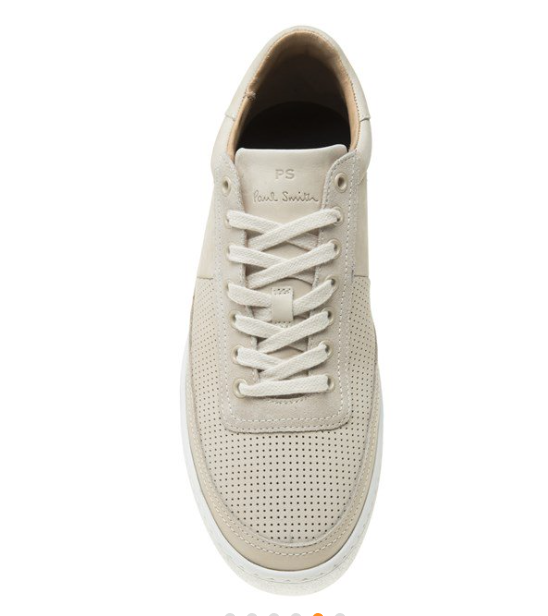 Gents Paul Smith Dizon Ivory Sneaker UK 7 EU 41 - Great Condition