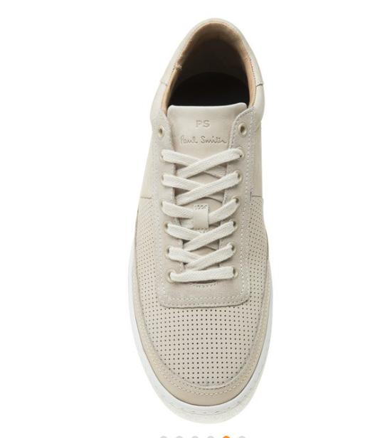 Gents Paul Smith dizon Avorio Sneaker  /EU 41 RRP -  Sneaker ottime condizioni c09c75