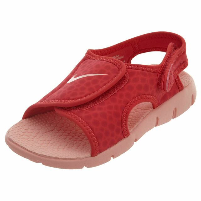 b8d1f94fdfe5d Nike Sunray Adjust 4 Little Kids 386520-608 Tropical Pink Sandals Youth  Size 1