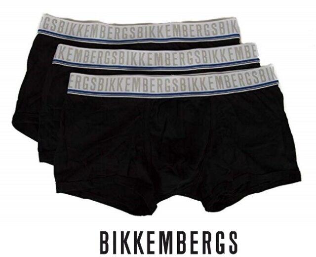 Bikkembergs 2 Boxer Uomo Art B4B4001 F103 2052 Colore Foto Misura A Scelta