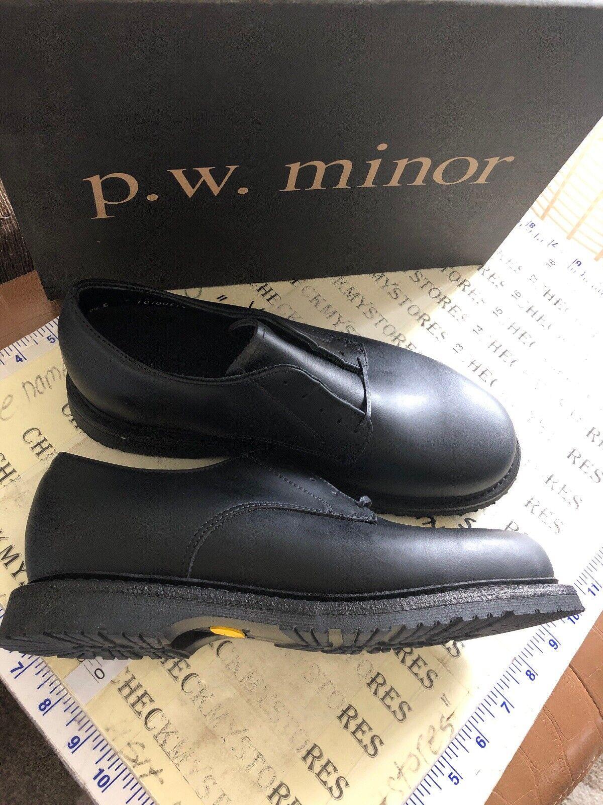Nouveau P.W. Minor Rochester en Cuir Premium chaussures VIBRAM Sole Made in USA a choisi SZ