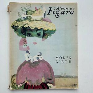 1948 Album du Figaro Paris summer fashion magazine - Dior dress pattern patron