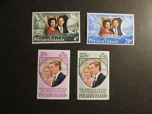 Pitcairn-Is-1972-1977-commemoratives-Mint-Never-Hinged