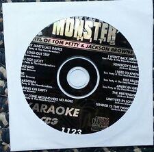 HITS OF TOM PETTY & JACKSON BROWNE KARAOKE CDG MONSTER HITS CD+G MH1123