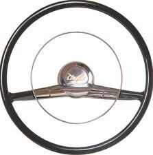 "1957-1963 Chevy Cars w//Orig Column 15/"" Mahogany /& Chrome Steering Wheel"