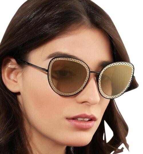 Dolce & Gabbana Sunglasses Women's DG2226 01/8G Cat Eye Tan Lens Authentic New