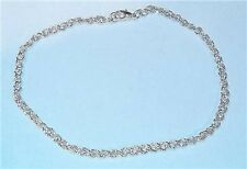 Men's French Dimond-Cut Rope Bracelet in Sterling Silver sep