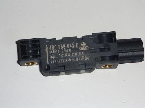 Audi A6 4B A8 4E A3 8P Aufprallsensor 4B0 959 643 D