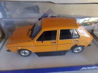 voiture miniature 1/18  SOLIDO  VOLKSWAGEN   GOLF  L  DE 83