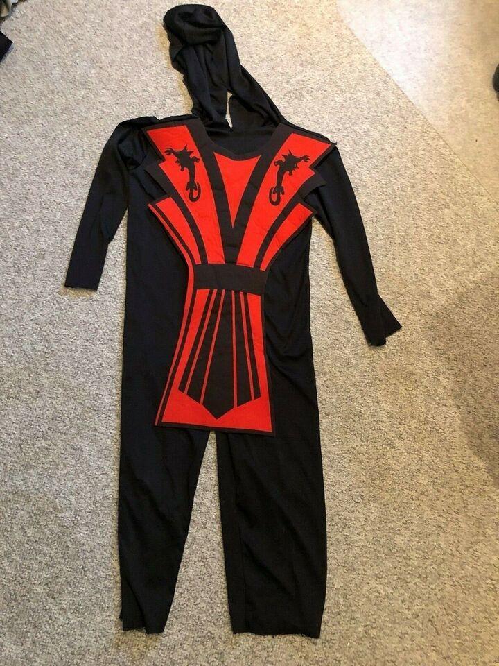 Udklædningstøj, Ninja kostume, ???