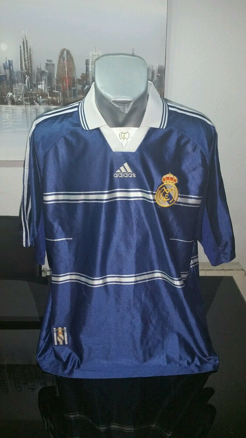 Adidas vintage tee shirt real madrid Intercontinental Taille xl