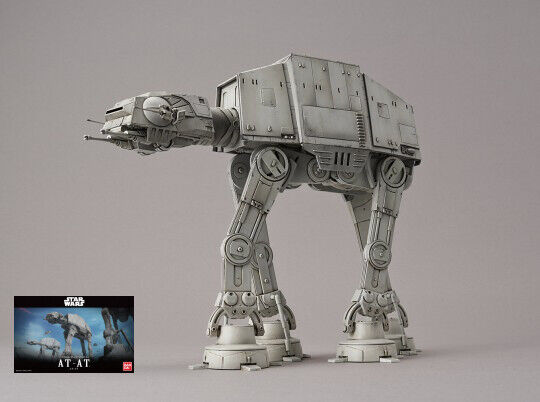 Star Wars  AT-AT Walker Plastic Kit 1 144 Model REVELL  garanti