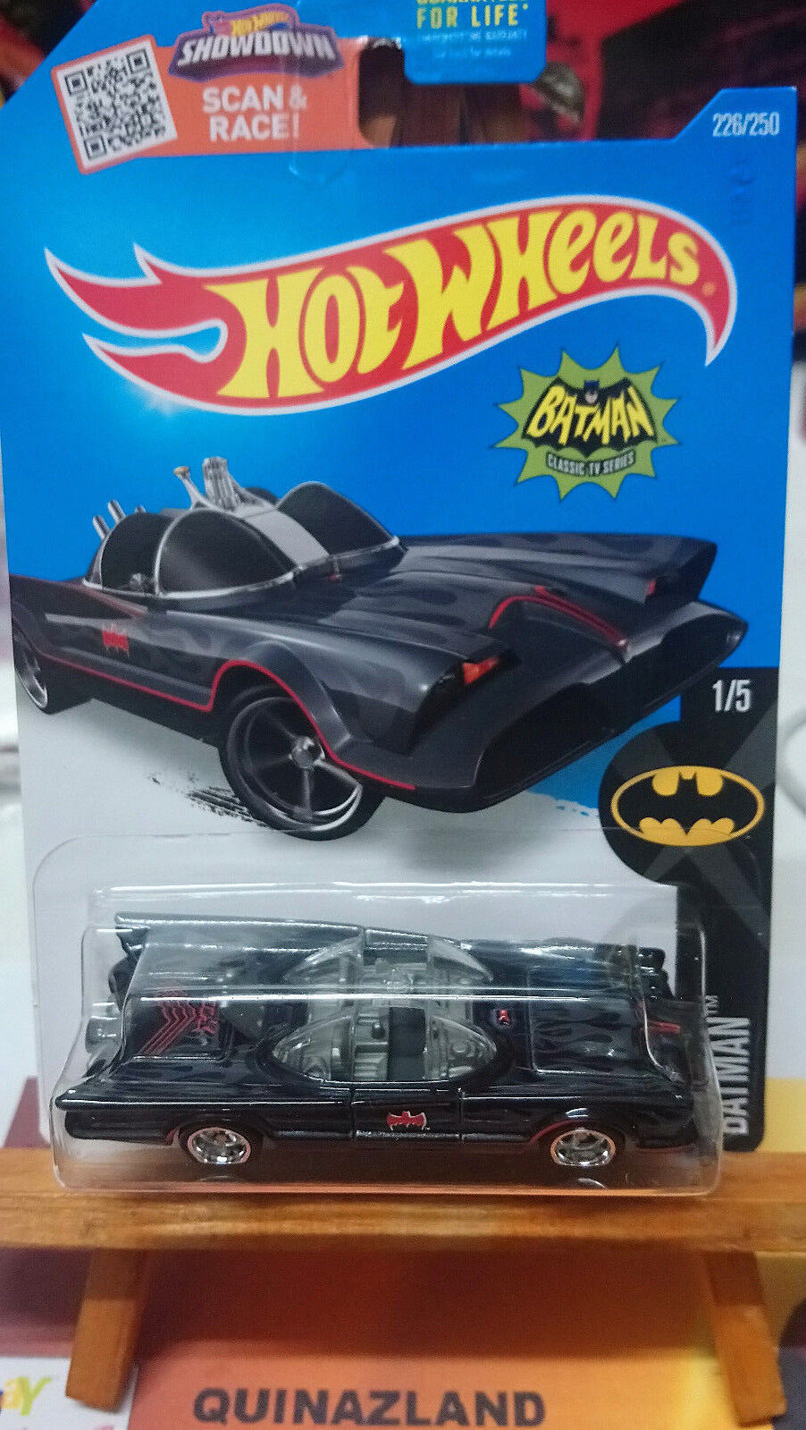 Hot Wheels súper Treasure Hunts TV SERIES Batmobile Batman 2016-226 (9974)