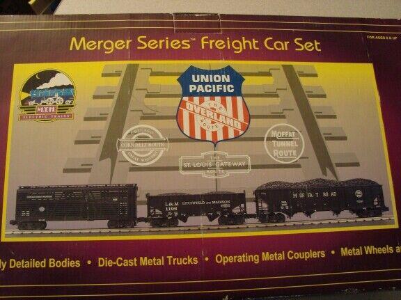MTH 200008 UP merger set 3 auto nuovo