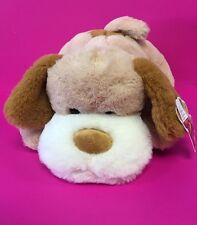 "14"" Musical Brown/beige Dog Plush ""Soft Toy- Perro De peluche-Stuffed Animal|NEW"