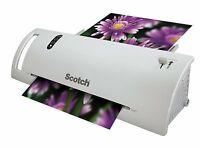 Scotch Thermal Laminator Combo Pack, Includes 20 Letter-size Laminating Pouches, on sale