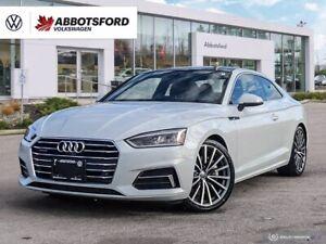 2018 Audi A5 Quattro Technik | 2.0T | One Owner | Low Km's | Ca