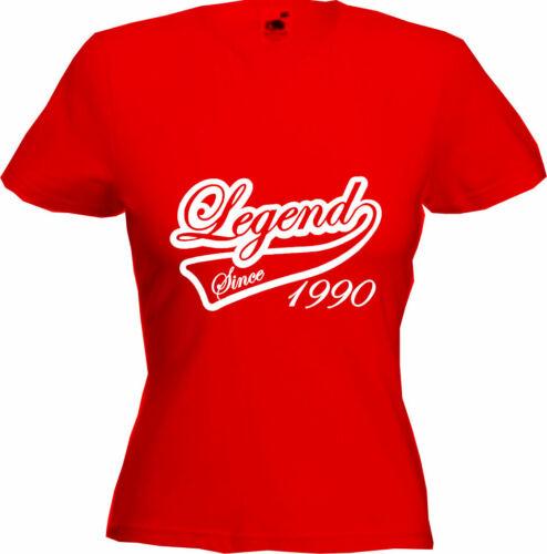 Gift Premium Quality LEGEND SINCE 1990-30th Birthday T-Shirt 2020