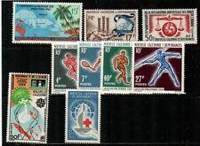 New Caledonia Scott 321-9 Mint hinged (Catalog Value $44.05)