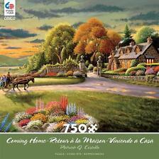 CEACO COMING HOME PUZZLE HIDDEN HARBOR PATRICK J COSTELLO 750 PCS #2927-1