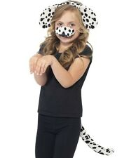 Childrens Fancy Dress Dog Set Dalmation Ears Tail Nose New by Smiffys