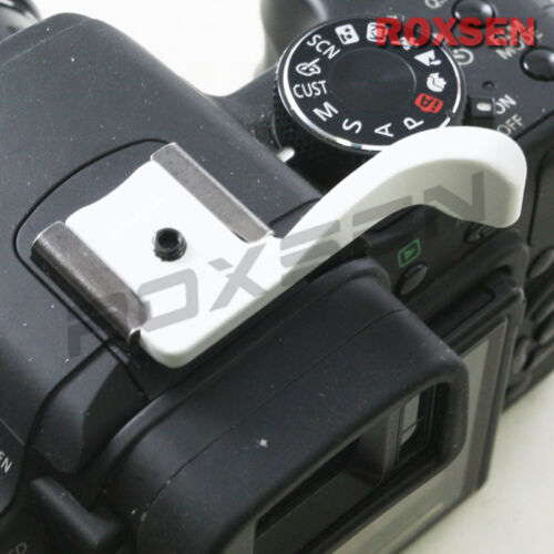 Nuevo Blanco pulgar Thumbs Up Grip Para Fujifilm Fuji X10 X100 Panasonic Gf2 Cámara
