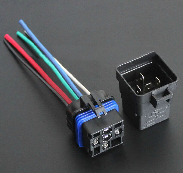Integration Automotive Car Relay 12V 40A 5Pin With Harness Socket Waterproof  A+