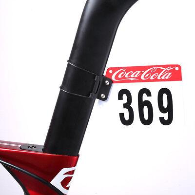 Road Bike Triathlon Racing Number Plate MTB Bicycle Card Bracket Light Weight