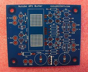 DIY-PCB-only-Buffer-PCB-using-the-Korg-Nutube-6P1