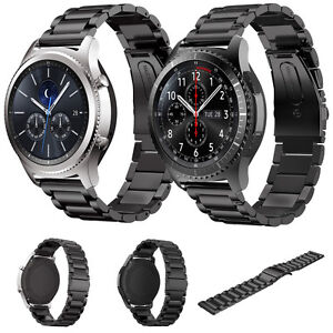stainless steel strap wrist band bracelet for samsung gear s3 classic frontier ebay. Black Bedroom Furniture Sets. Home Design Ideas