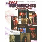 2002 Pop Music Hits -- Instrumental Solos: Alto Saxophone by Alfred Music (Paperback / softback, 2002)
