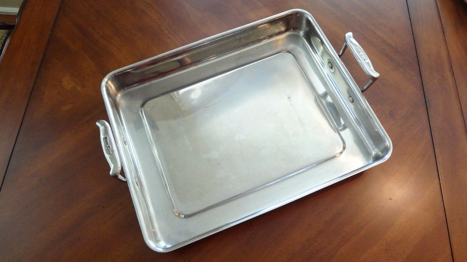 Bon Chef 60012 Stainless Steel Cucina Large Food Pan with Handles,5 qt Capacity
