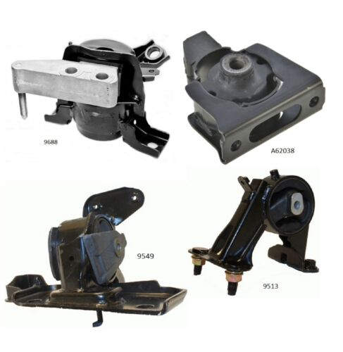 4 PCS Motor /& Trans Mount For 2009-2012 Toyota RAV4 2.5L 2WD