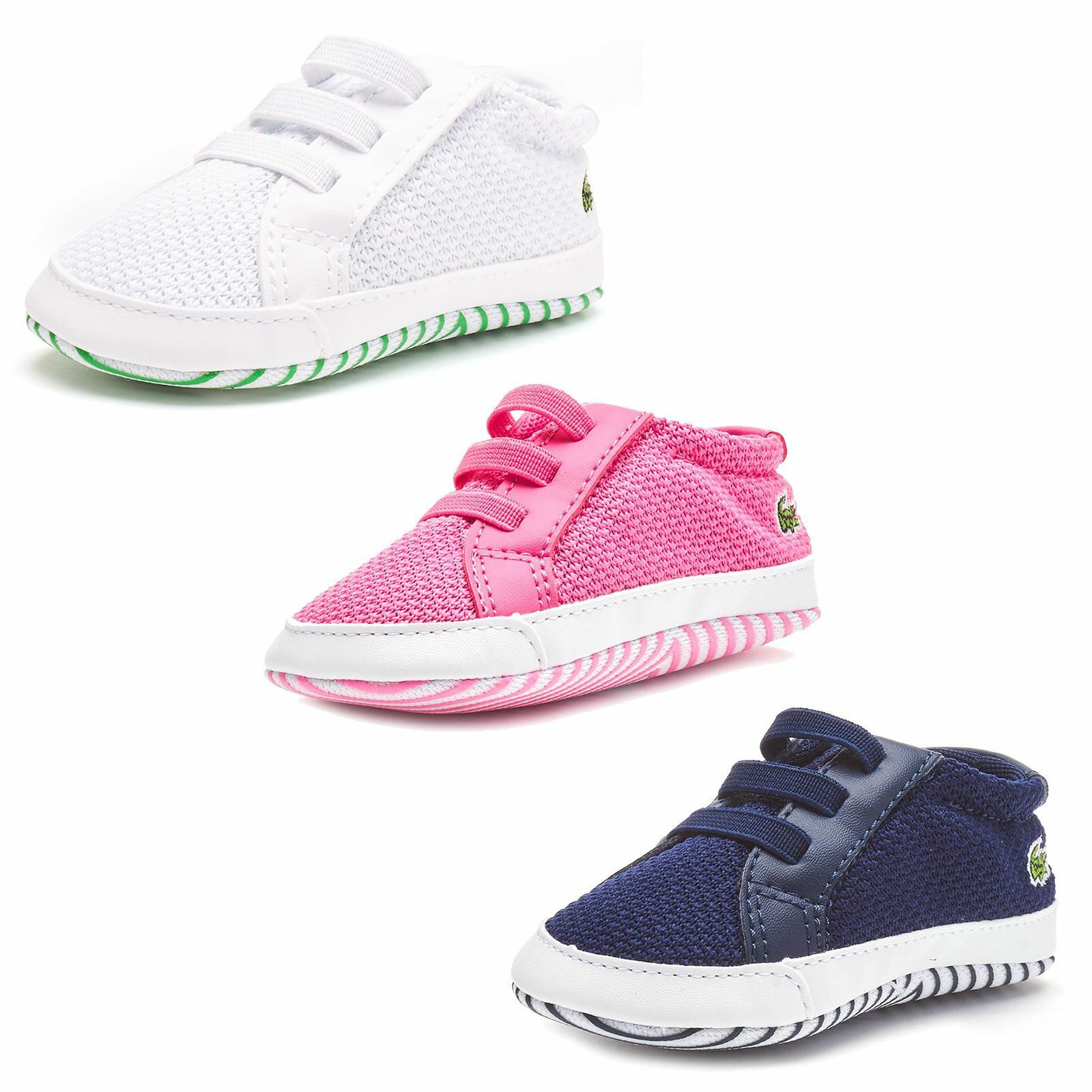 a07651124f5d1 Kids s Lacoste L 1212 Crib 318 1 CAB Slippers in Pink - Size UK 3 Infant    EU 19 for sale online