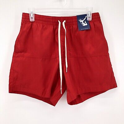 Chubbies Mens Swim Board Shorts Trunks RED NEW WITH TAGS