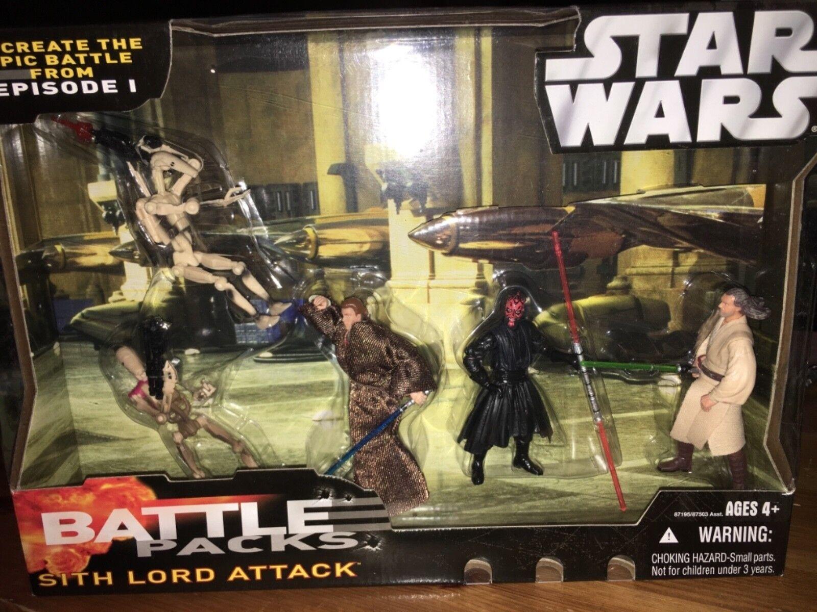 marcas de diseñadores baratos Estrella Wars 2006 Sith Lord Lord Lord ataque de batalla de episodio 1  calidad auténtica