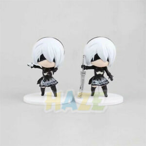 Anime-NieR-Automata-2B-YoRHa-Q-Ver-Neal-4-034-PVC-Action-Figure-Statue-Model-Toy