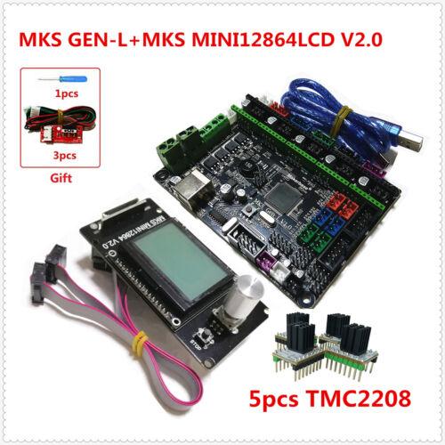 MKS GEN L TMC2208 stepper driver 3d printer parts MKS MINI 12864LCD display