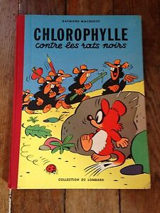 chlorophylle-contre-les-rats-noirs-EO-1956-avec-points-tintin-cote-BDM-500e