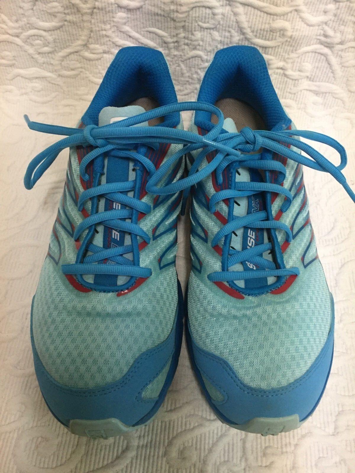 Salomon - Women's Size 8.5 bluee Sense Link Contagrip Running shoes