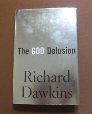 Richard Dawkins THE GOD DELUSION - 1st/2nd HCDJ - NF - 2006 atheism